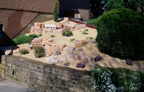 Butte en pierres de Bourgogne